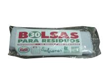 Todas BOLSA RESID.45X60 30U..ROLLO(ECONO)