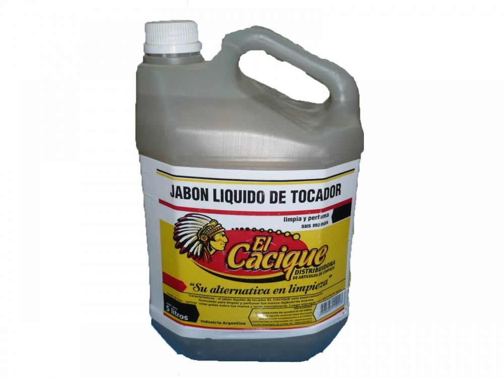 Todas JABON DE TOCADOR LIQ. 5LT...CACIQUE
